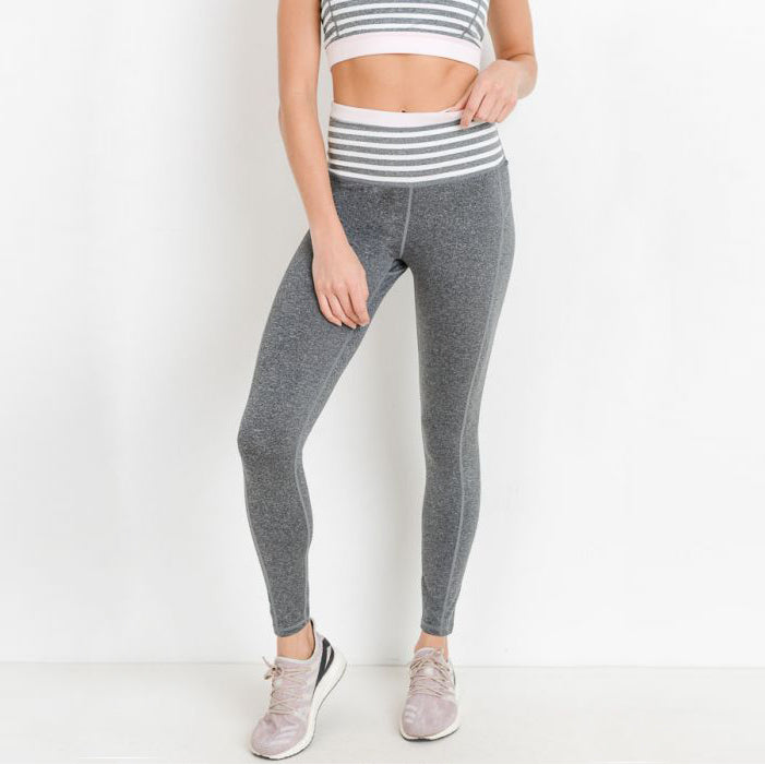 Striped Highwaist Leggings