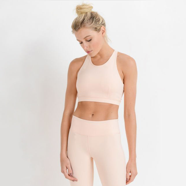 Knotted Racerback Sports Bra