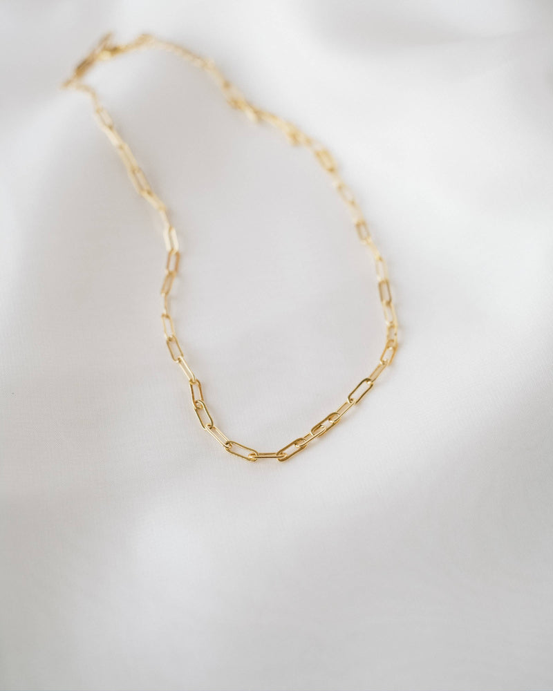 Lennox Paperclip Necklace