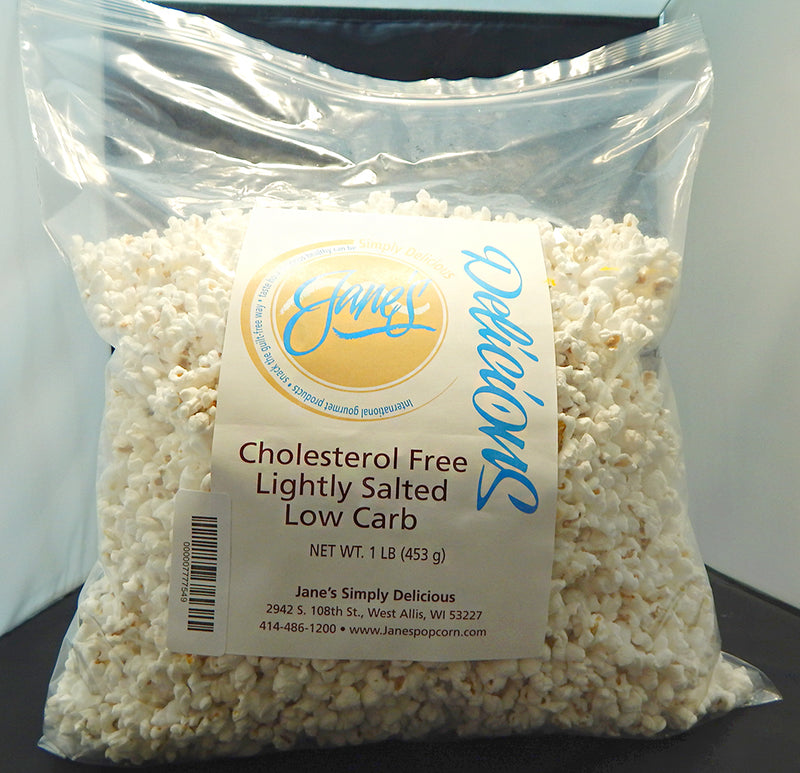 Cholesterol Free & Lightly Salted Gourmet White Popcorn