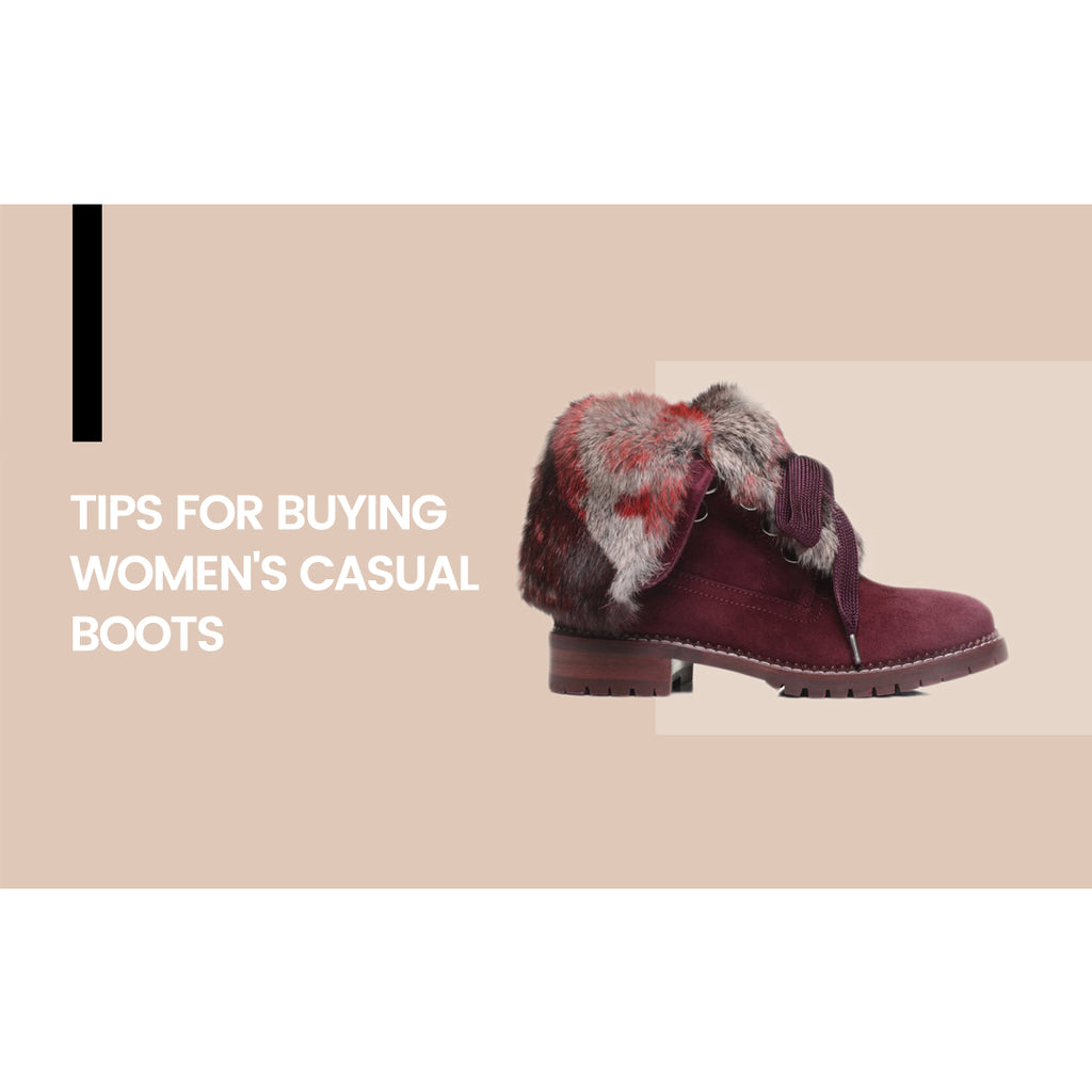 Tips For Buying Women's Casual Boots