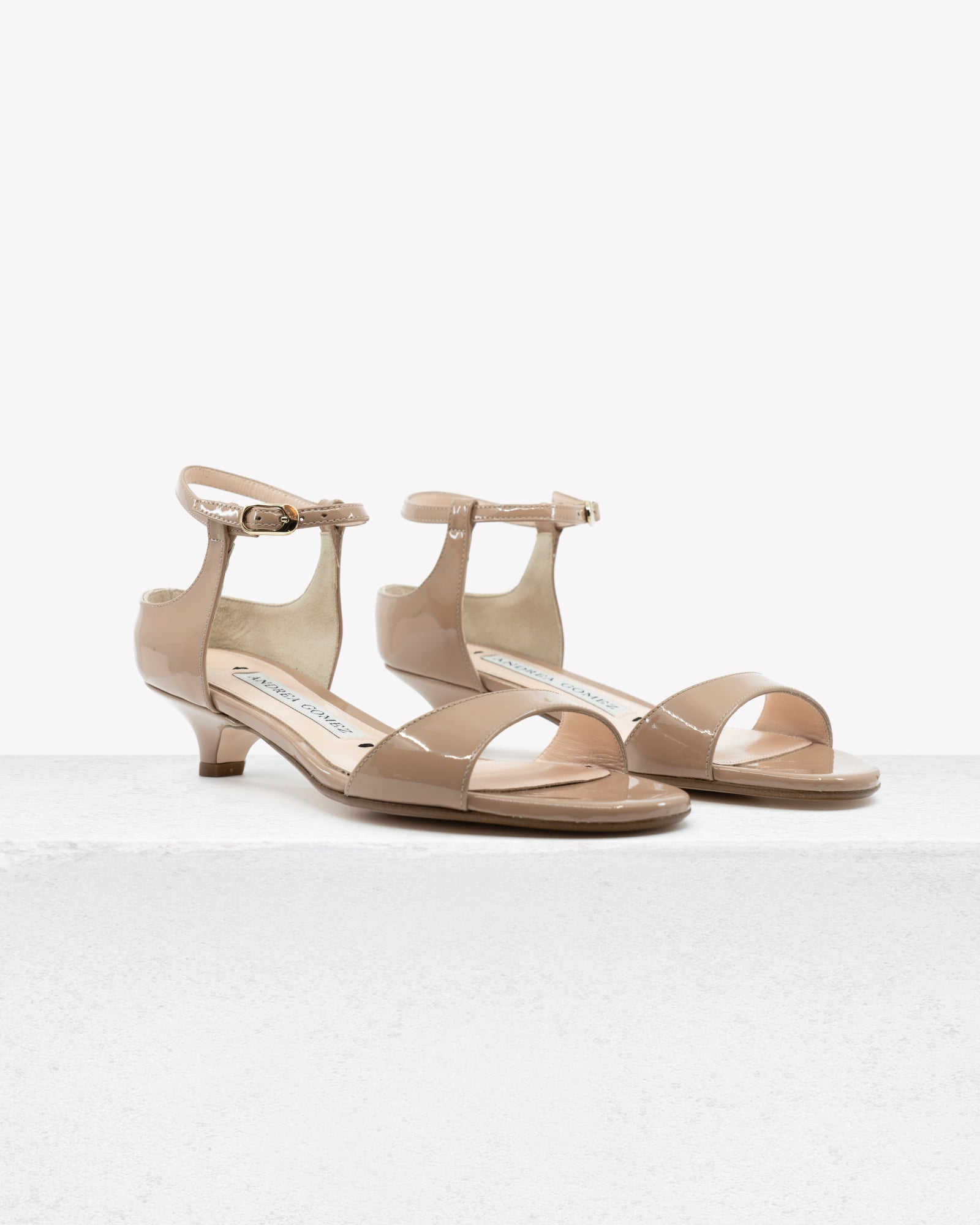 Gwyneth Nude Patent Leather
