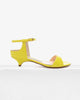 Gwyneth Yellow Patent Leather