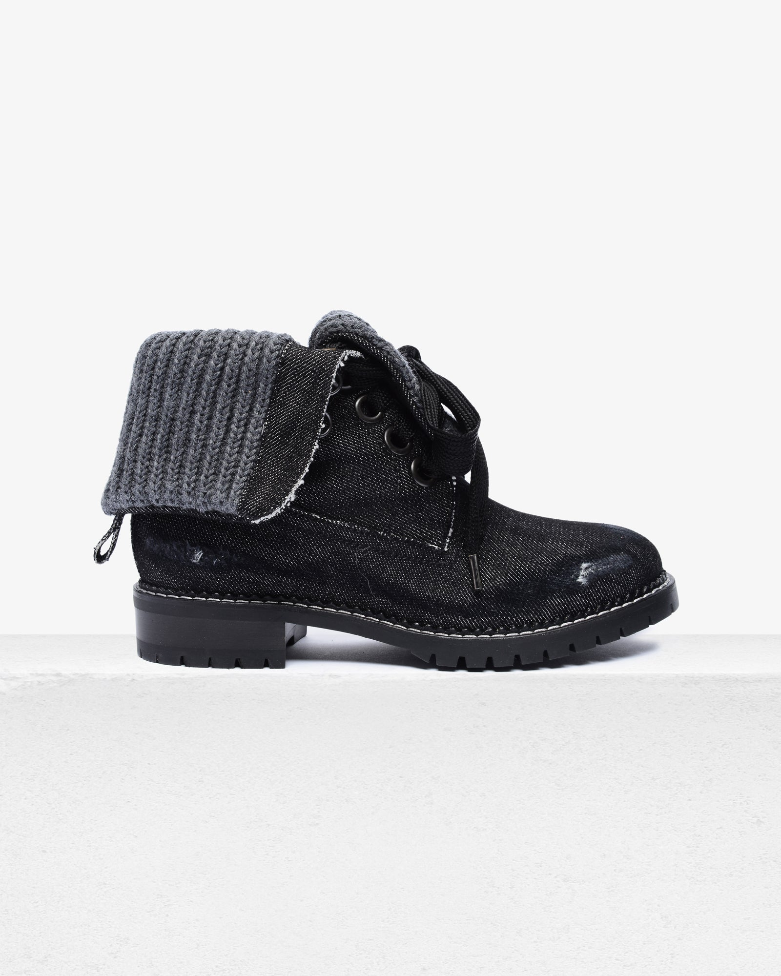 Trapper Boot Black Jean