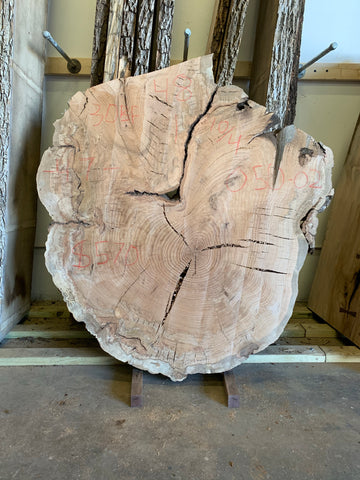 Red Oak Live Edge Cookie 050-02