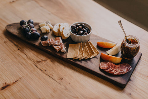 Live Edge Walnut Charcuterie Boards