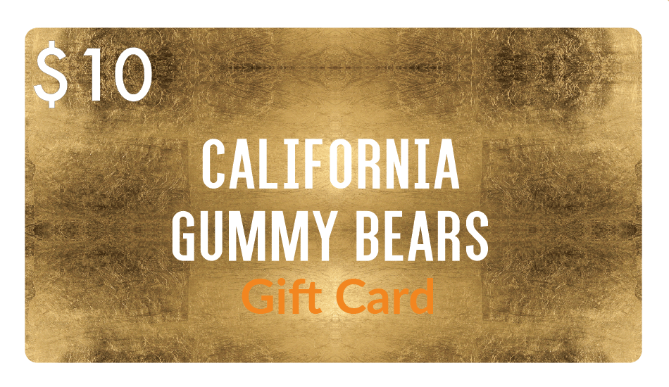 Gift Card - California Gummy Bears