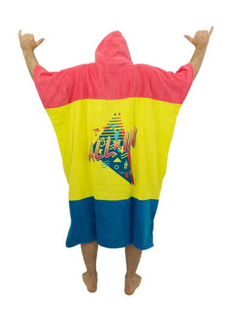 ALL-IN V Poncho Bibumpy man 90ies - Wake Stoff