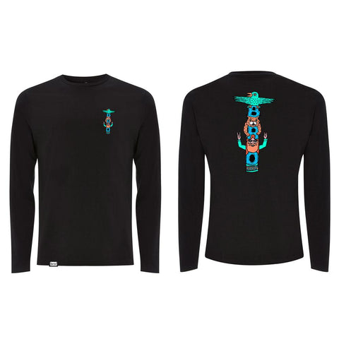 bro! Brotem Pole Longsleeve black - Wake Stoff