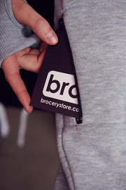 bro! chill n´shred hoodie black/grey - Wake Stoff