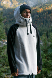 bro! chill n´shred hoodie bone/black - Wake Stoff