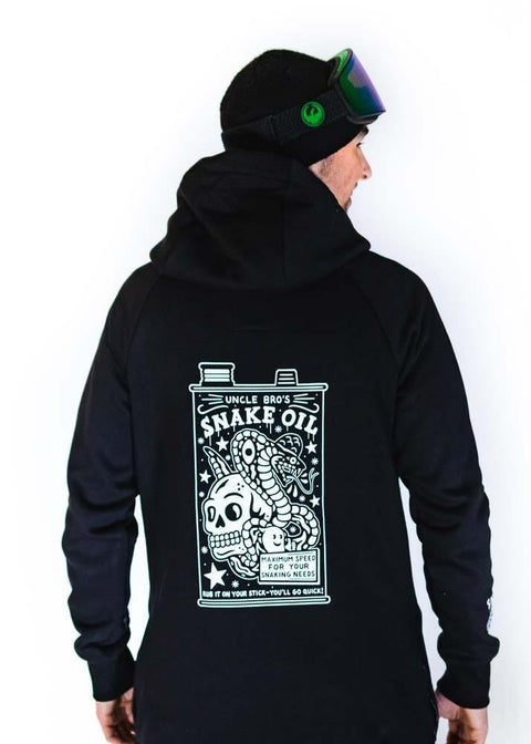 bro! chill n´shred hoodie Snake Oil - Wake Stoff