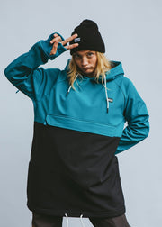 bro! ShredShell low ocean blue/black - Wake Stoff