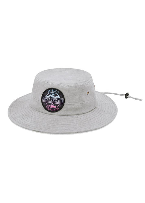 bro! Sunset Shred Club Boonie (grey) - Wake Stoff
