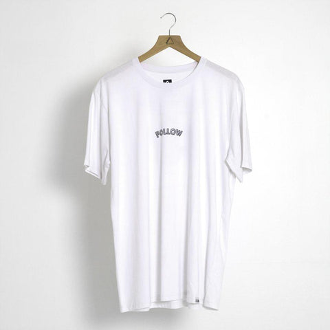 FOLLOW Angry Email Mens Tee white 2020 - Wake Stoff