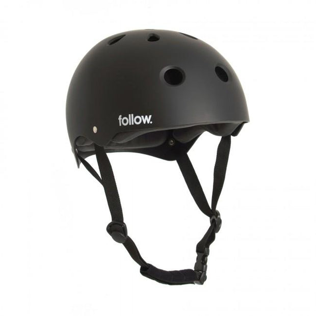 FOLLOW Safety First Helmet black 2020 - Wake Stoff