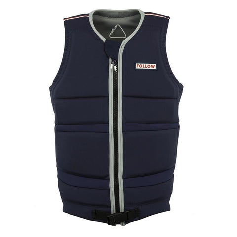 FOLLOW Token Oli Mens Vest navy 2018 - Wake Stoff