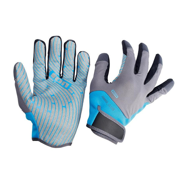 ION Amara Gloves Full Finger blue - Wake Stoff