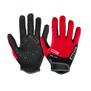 ION Amara Gloves Full Finger red - Wake Stoff