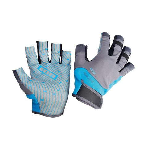 ION Amara Gloves Half Finger blue - Wake Stoff