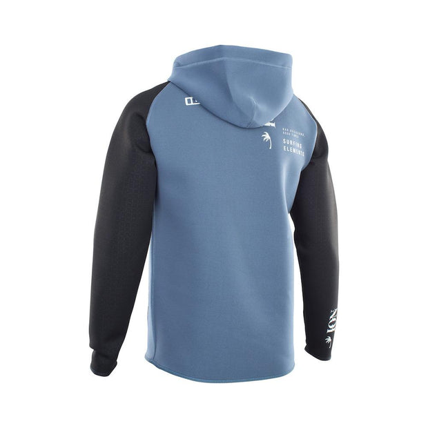ION Neo Hoody Lite steel blue/black 2021 - Wake Stoff