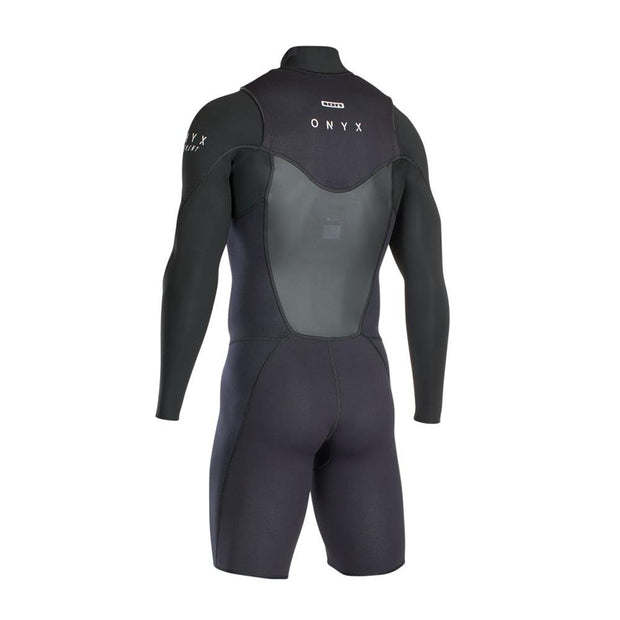 ION Wetsuit FL Onyx Element Shorty LS 2/2 FZ DL - Wake Stoff