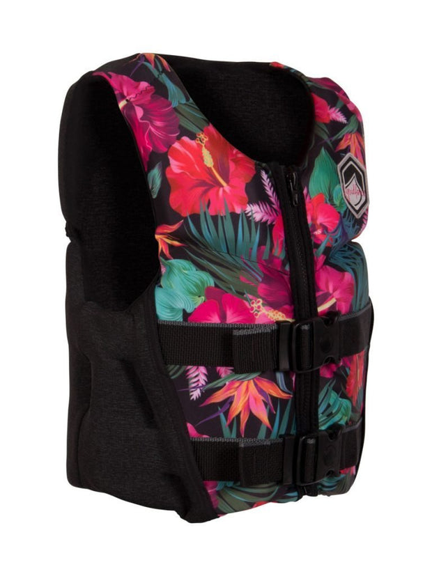 LIQUID FORCE Lanai Youth Girls Tropical Vest - Wake Stoff
