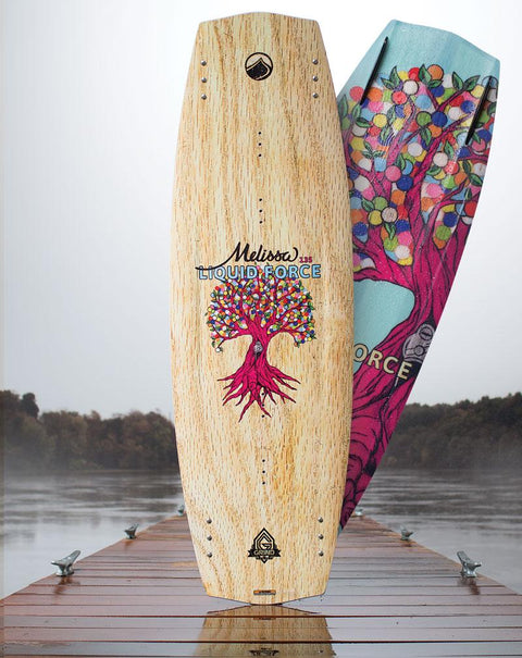 LIQUID FORCE Melissa Hybrid 131cm  2016 - Wake Stoff
