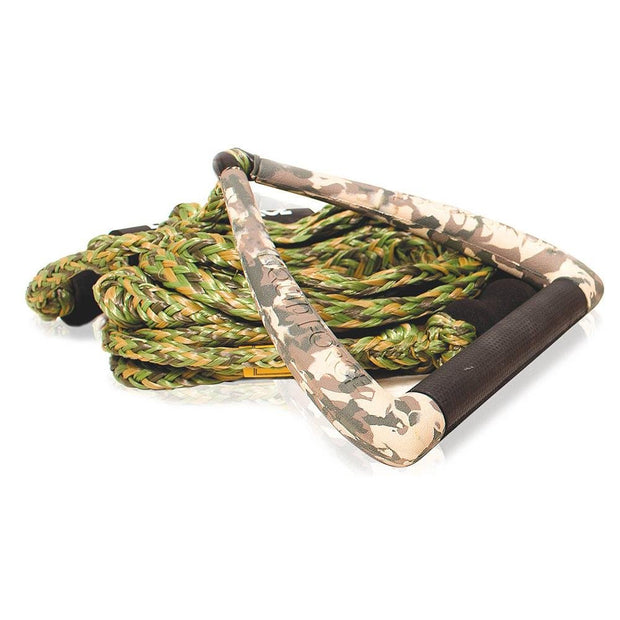 "LIQUID FORCE Surf DLX Rope 9"" Handle camo - Wake Stoff"