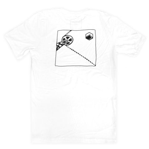 LIQUID FORCE Tee Turnpoint white - Wake Stoff