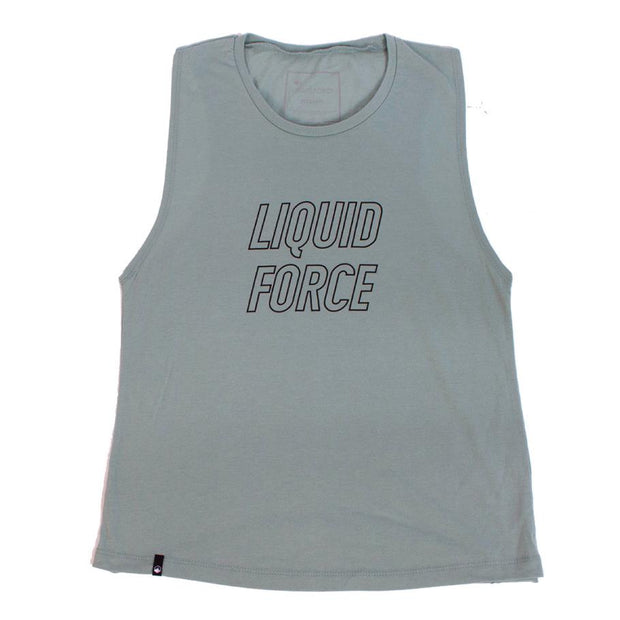LIQUID FORCE wms Stroker Stone Tee - Wake Stoff