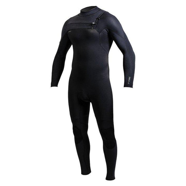 ONEILL Hyperfreak 5/4+mm Chest Zip Full blk/blk - Wake Stoff