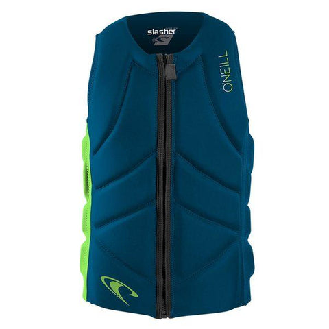 ONEILL Youth Slasher Comp Vest ultrablue/dayglo - Wake Stoff