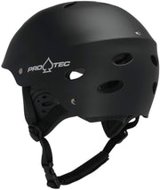 Pro Tec Ace Wake Helm rubber black - Wake Stoff