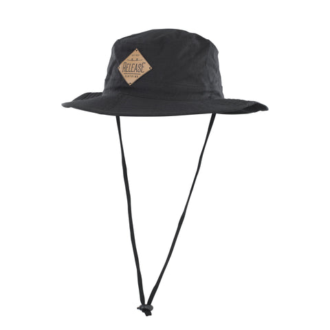 RELEASE Fishing Hat Patch black - Wake Stoff