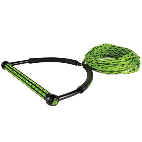 SL TR9 Handle w/static line GREEN - Wake Stoff