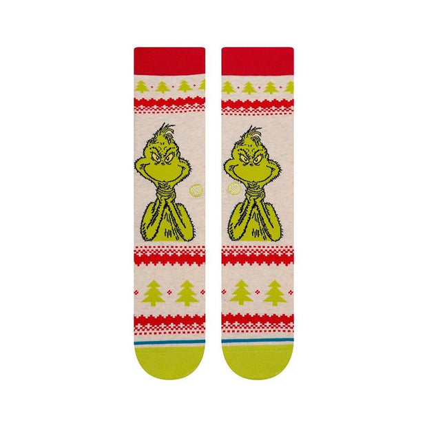 Stance Grinch Sweater - Wake Stoff