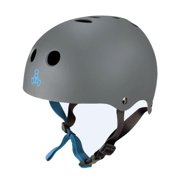 Triple8 Halo Water Helmet carbon rubber - Wake Stoff