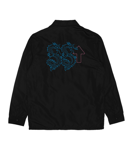 NEON DRAGON COACH'S JACKET