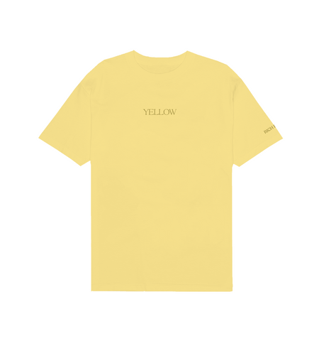YELLOW TEE IN PASTEL YELLOW