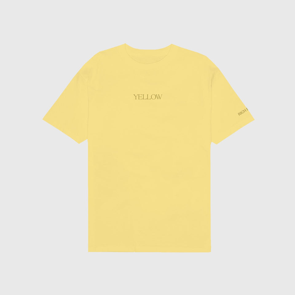 YELLOW TEE IN PASTEL YELLOW + DIGITAL ALBUM 88RISING