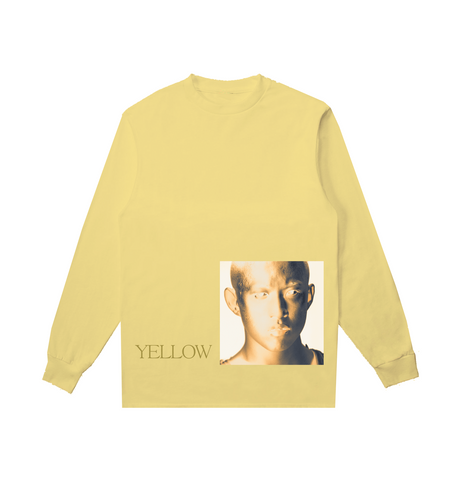 YELLOW COVER ART LONG SLEEVE IN YELLOW