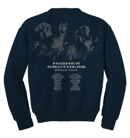 Higher Brothers Tour Crewneck