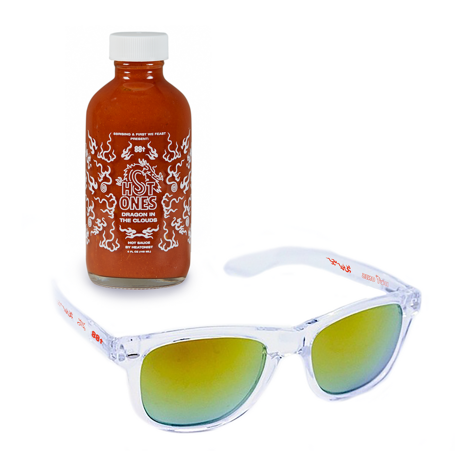DRAGON IN THE CLOUDS HOT SAUCE + SUNGLASSES