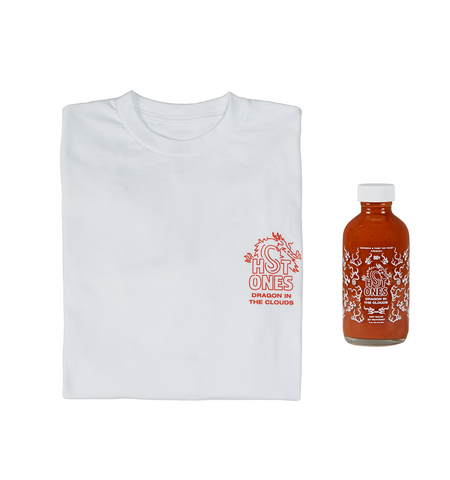 DRAGON IN THE CLOUDS HOT SAUCE + LONG SLEEVE