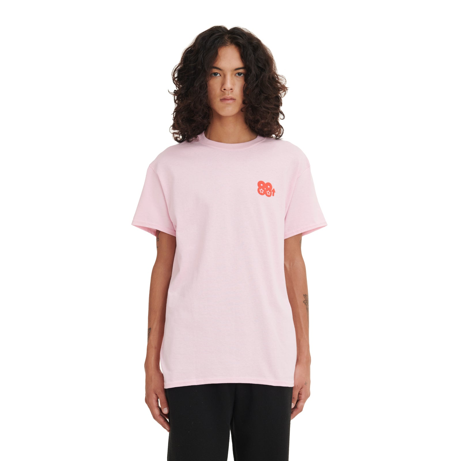 88Rising x Vandy Lucky Cat T-Shirt Pink