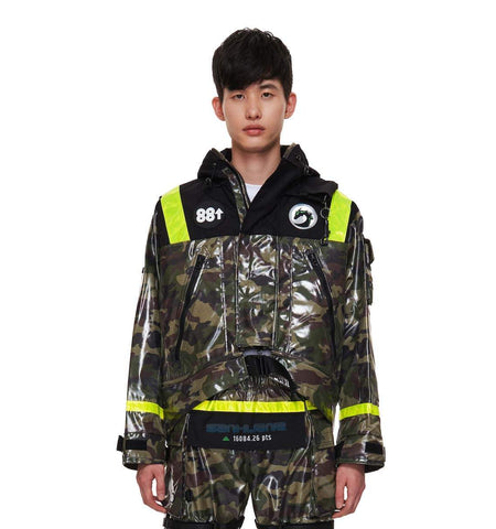 88rising x SANKUANZ Camo Hooded Jacket 88RISING