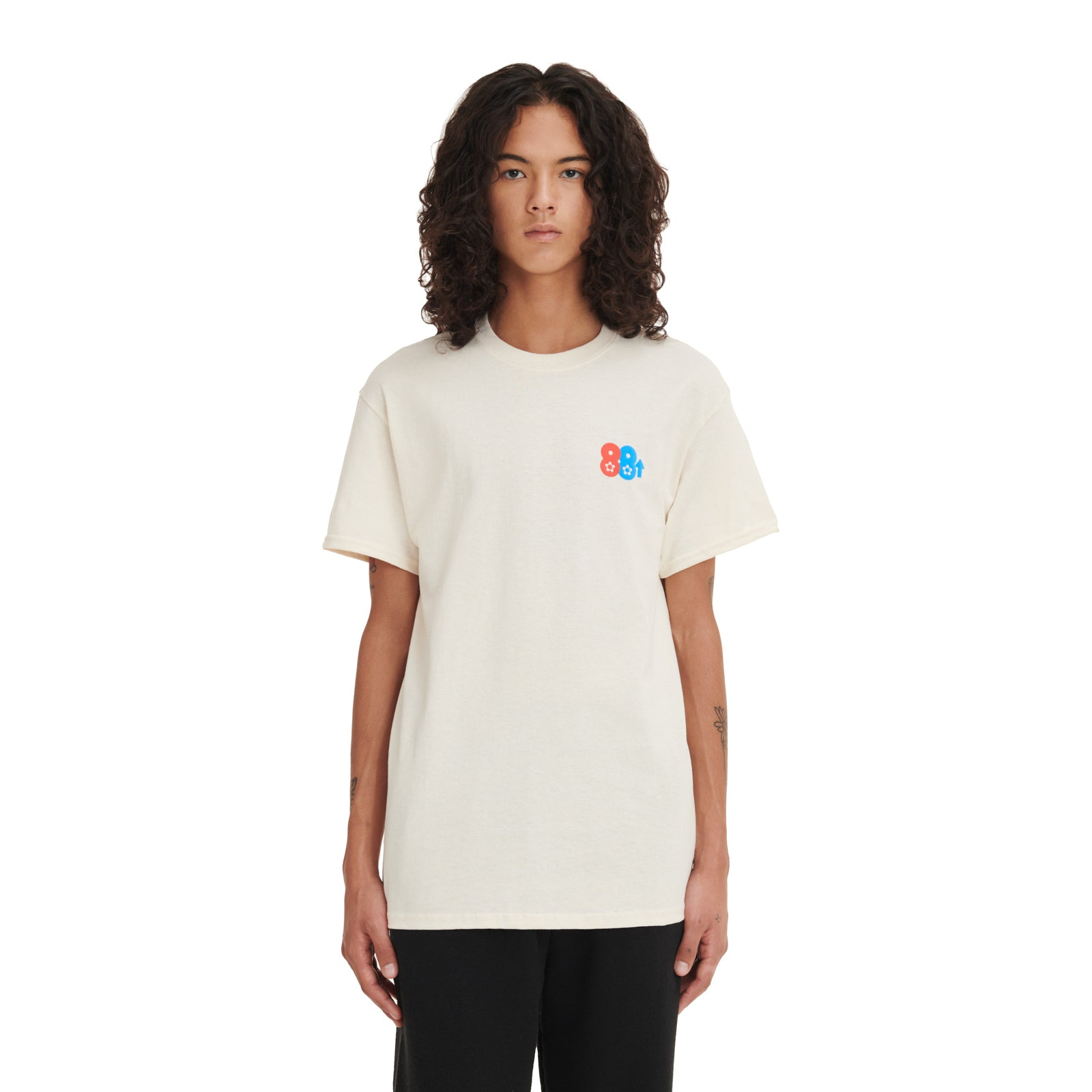88Rising x Vandy Lucky Cat T-Shirt Natural