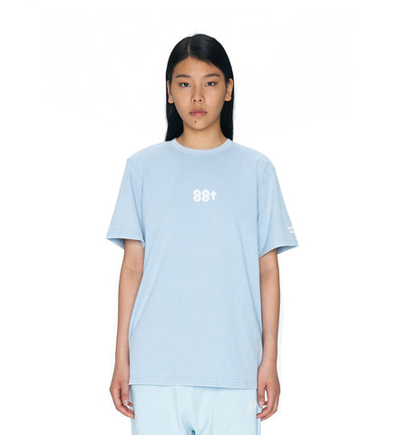 ESSENTIALS WASHED T-SHIRT BLUE