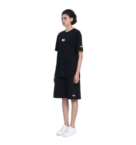 ESSENTIAL CORE SWEATSHORTS BLACK